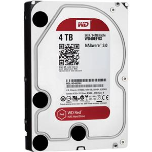 Western Digital WD40EFRX Red 4TB 64MB Cache Internal Hard Drive